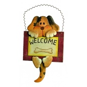 "Dekoschild ""Welcome"", 2er Set"