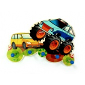Garderobe Monstertruck